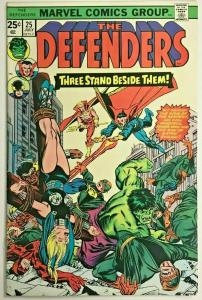 DEFENDERS#25 VF 1975 MARVEL BRONZE AGE COMICS