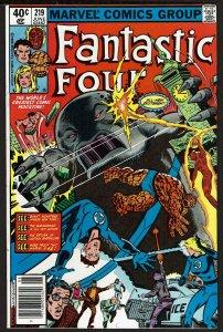 Fantastic Four #219 (Jun 1980, Marvel) 8.5 VF+