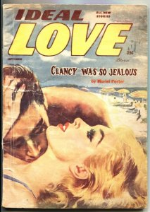 IDEAL LOVE-SEPT--1956-NEAR END OF SERIES ISSUE-PULP SPICY ROMANCE