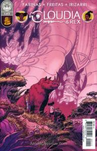 Cloudia and Rex #1 VF/NM; Lion Forge | save on shipping - details inside