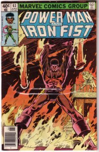 Power Man and Iron Fist   vol. 1   # 63 GD Duffy/Gammill, Layton cover