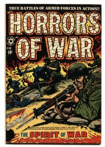 Horrors of War #11-1st issue-GHOST OF HITLER-L.B. Cole comic book