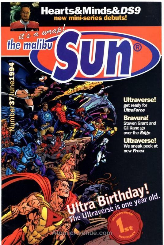 Malibu Sun #37 VF/NM; Malibu | save on shipping - details inside