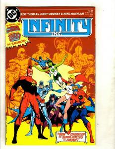 12 Infinity DC Comics # 1 2 3 4 5 6 7 8 9 10 45 46 GK25