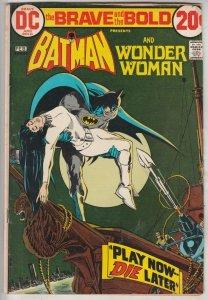 Brave and the Bold, The #105 (Feb-73) FN/VF Mid-High-Grade Batman, Wonder Woman