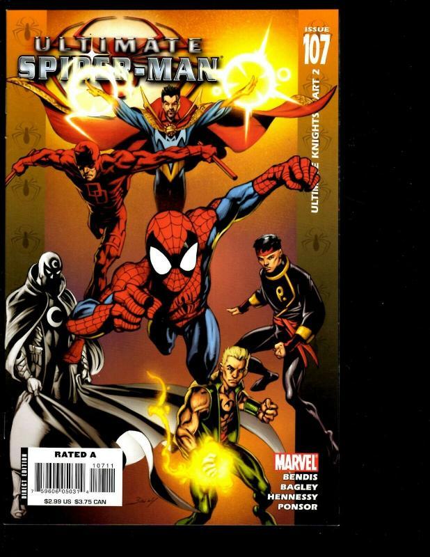 12 Spider-Man Marvel Comics 104 105 106 107 108 109 111 112 113 114 115 SM11