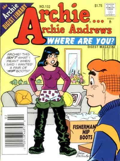 Archie…Archie Andrews, Where Are You? Digest Magazine #102 VF/NM; Archie | save