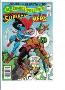 DC Comics Presents #44 - Bronze Age - April, 1982 (NM-)