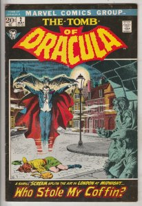 Tomb of Dracula #2 (May-71) VF/NM High-Grade Dracula