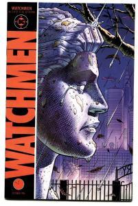 WATCHMEN #2 comic book 1986-DAVID GIBBONS-ALAN MOORE-DC COMICS