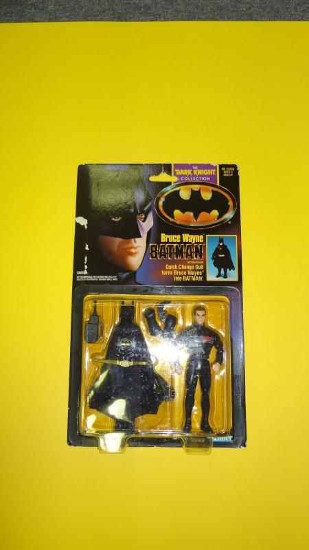 BRUCE WAYNE BATMAN - DARK KNIGHT COLLECTION KENNER 1990- MOC
