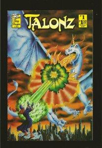 A Stop Dragon Comic TALONZ No 1 January 1987