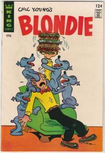 Blondie #170 (Jul-67) NM Super-High-Grade Blondie and Dagwood Bumstead