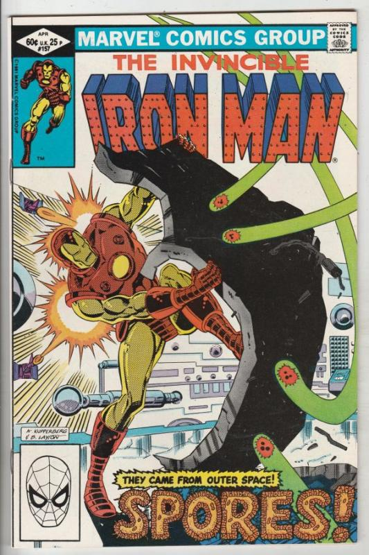 Iron Man #157 (Mar-82) NM- High-Grade Iron Man