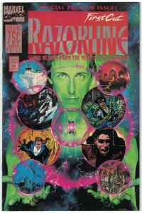 Razorline: The First Cut #1 FN; Marvel | Clive Barker - previews Ectokid