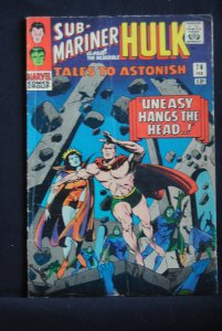 Tales to Astonish #76, Sub-Mariner Cover