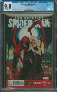 Surperior Spider-Man #20 CGC Graded 9.8 Black Cat & Stunner appearance