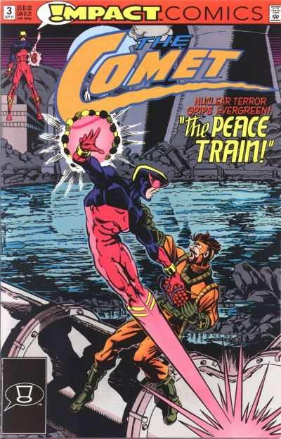 Comet (1991 series) #3, NM- (Stock photo)