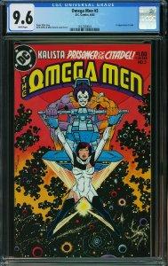 Omega Men #3 (DC, 1983) CGC 9.6