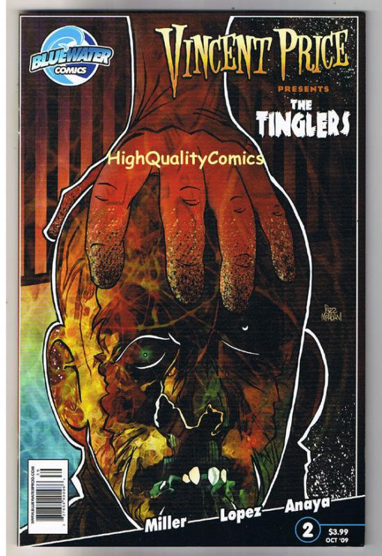 VINCENT PRICE - The TINGLERS 2, VF/NM, Voodoo, Horror, 2009, more VP in store
