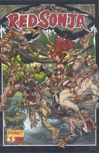 Red Sonja (Dynamite) #5A VF/NM; Dynamite | save on shipping - details inside