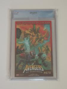 X-Men Gold #13, CGC 9.9; Caldwell Lenticular homage-X-Men #100! Mojo appears!!