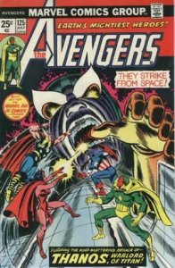 Avengers #125 (ungraded) stock photo / SCM