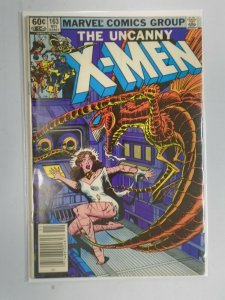 Uncanny X-Men #163 Newsstand edition 4.0 VG (1982 1st Series)