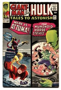 TALES TO ASTONISH #64 comic book 1965-HULK-SILVER AGE-MARVEL-VF