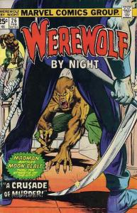 Werewolf By Night #26 VF; Marvel | save on shipping - details inside