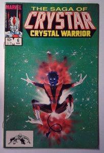 The Saga of Crystar, Crystal Warrior #6 (1984)