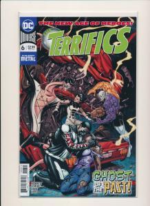 DC Comics The New Age of Heros TERRIFICS #6 Plastic Man Cover  VF/NM (PF786)