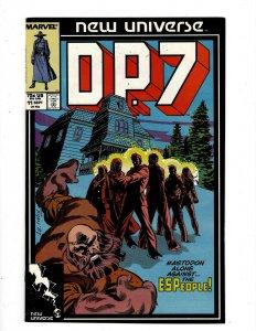 Lot of 12 D.P.7 Marvel Comic Books #11 12 13 14 15 16 17 18 19 20 21 22 SB1