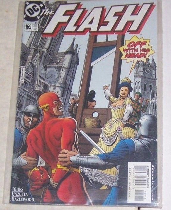 Flash #169 (Feb 2001, DC) CAPTAIN COLD MIRROR MASTER LINDA PARK WALLY WEST