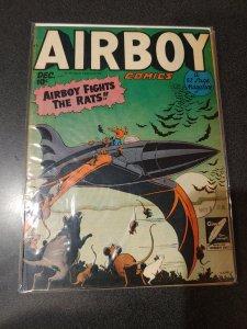 AIRBOY COMICS VOL. 5 #11 GOLDEN AGE CLASSIC FINE+