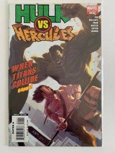 Hulk vs Hercules When Titans Collide One-Shot Marvel Comics VF+