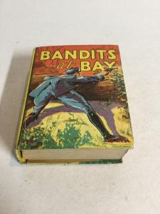 Bandits At Bay Clinton Vf Very Fine 8.0 Big Little Books 1138