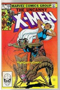 X-MEN #165, NM-, Wolverine, Chris Claremont, Uncanny, more in store