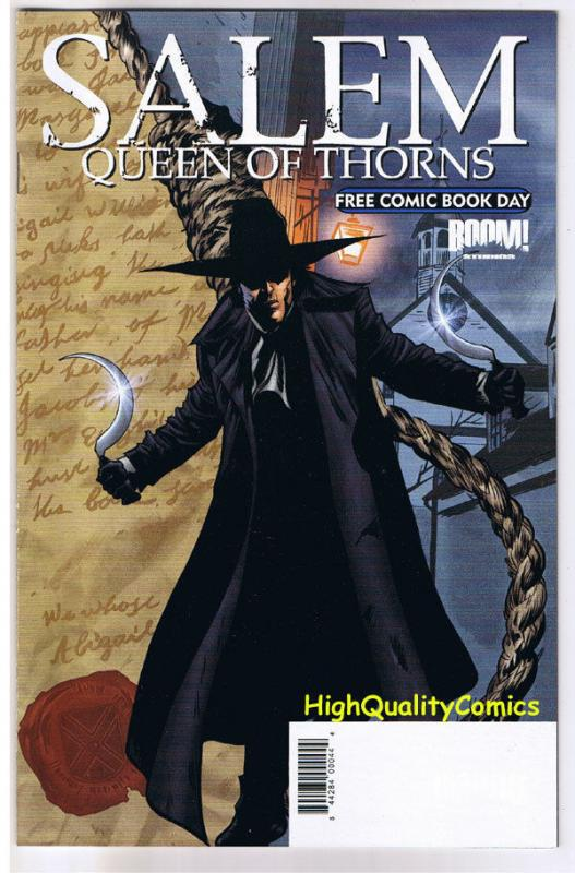 SALEM QUEEN of THORNS, Boom, Walsh, FCBD, 2008, NM