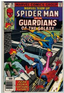 MARVEL TEAM UP 86 VG-F GUARDIANS OF THE GALAXY