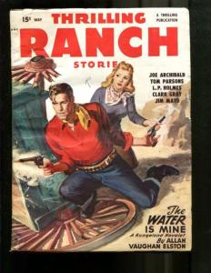 POPULAR WESTERN PULP-1948-MAY-LOUIS L'AMOUR-BLONDE BABE FN