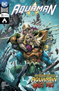 Aquaman #35 Rebirth Main Cvr (DC, 2018) NM
