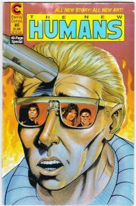 New Humans #5 (Eternity, 1988) VG/FN