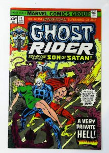 Ghost Rider (1973 series) #17, NM- (Actual scan)