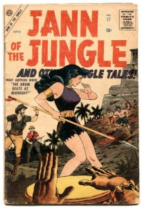 Jann of The Jungle  #17 1957-last issue- Atlas comics- VG