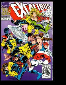 10 Excalibur Marvel Comics # 124 125 FB 1 Annual 1 2 + Mojo + SP + Vs Xmen+ JF26