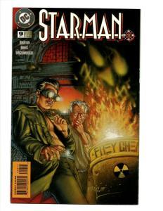 Lot of 9 Starman DC Comics Comic Books #9 10 11 12 13 14 15 16 17 J394