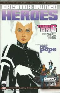Creator-Owned Heroes #2B VF/NM; Image   save on shipping - details inside