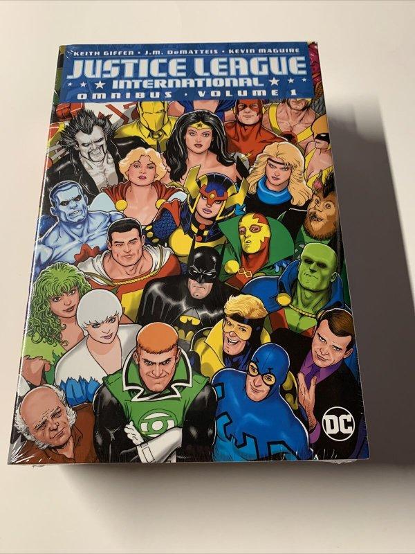 Justice League International V Vol Volume 1 Omnibus Mint Sealed Dc Hc Tpb