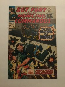 Sgt Fury And His Howling Commandos 53 Fn Fine 6.0 Marvel